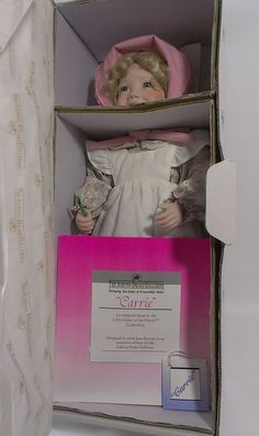 Ashton Drake Little House on the Prairie CARRIE INGALLS Doll - Joan Ibarolle  #DollswithClothingAccessories