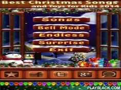 Best Christmas Songs For Free  Android App - playslack.com , This is a very special date for many people around the world, and so we created this beautiful app with the best Christmas songs.This free Christmas music app is different then others. You can not just playing, there are many animations inside 3 christmas themes and 1 game mode.For example real live Snow Falling Background with Santa Claus' Reindeer! Christmas Bell sound effect and last but not least the unique animated musical…