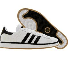 Adidas Campus II+ (white / black1 / chalk2) 019050 - $64.99 Adidas Samba, Adidas Superstar, Adidas Campus, Adidas Sneakers, Fashion Outfits, Clothing, Shoes, Outfits, Fashion Suits