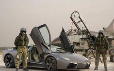 HD wallpaper: Lamborghini Reventon Military, black sports coupe ... Lamborghini Diablo, Lamborghini Miura, F22, Cheap Sports Cars, Sport Cars, Porsche 911, Supercars, Ferrari, Volkswagen