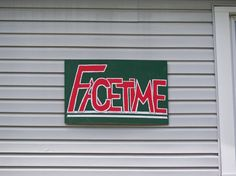 Sign for the Facetime house in Oxford, Ohio. Miami University, Facetime, Ohio, Oxford, Neon Signs, House, Columbus Ohio, Home, Oxfords