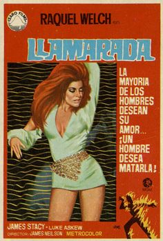 169.  JANO. Llamarada. Dirigida por James Neilson. [1969]. #ProgramasdeMano #BbtkULL #Diseñadores #Jano #DiadelLibro2014