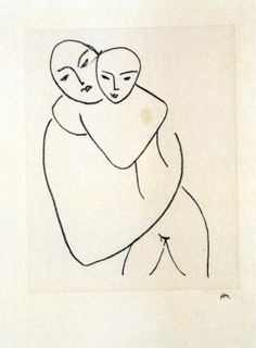 I disegni di Matisse donati a Paolo VI, Studio per la Vergine e il bambino IV, 1950-51, litografia n.3/200, 40x27,5 cm, inv. 3375