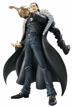 Portrait of Pirates P.O.P One Piece NEO-DX Series : Crocodile PVC Figure >> Megahouse by MEGAHOUSE. $178.00. Height: approx 240mm. The ex `Seven Warlords of the Sea`, and the President of BW (Baroque Works), `Mr 0` Crocodile is here! - The ex 'Seven Warlords of the Sea', and the President of BW (Baroque Works), 'Mr 0' Crocodile has been added to the highly popular P.O.P-DX series! - Beating the main character Luffy twice in the popular (Alabasta arc), the villain ...