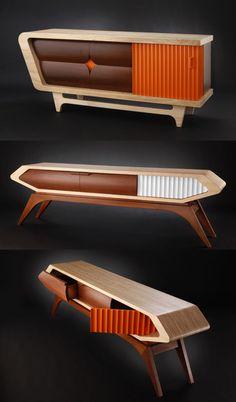 Jory Brigham Design — Wooden Credenzas via jorybrigham.com