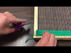 Sewing in ends - YouTube