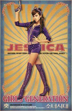 Jessica sinirlendiğinde tekmeler .
