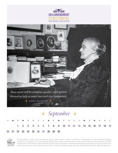 Susan B. Anthony recognized that many of the legal disabilities women faced were the result of their inability to vote. Anthony worked tirelessly her whole adult life fighting for the right to vote, and she was instrumental in bringing the issue to the forefront of American consciousness.
