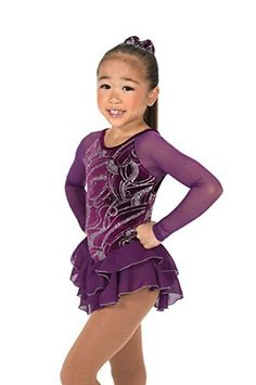 Bedazzled With Rhinestones Color Sky Blue And Royal Blue Frugal Figure Skating Dress