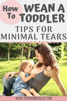 How to wean a toddler who has been breastfeeding for months. Tips for a trauma free experience for both mamma and baby. Weaning Baby From Breastfeeding, Breastfeeding Quotes, Breastfeeding Toddlers, Stopping Breastfeeding, Breastfeeding Positions, Breastfeeding Problems, Baby Weaning, Breastfeeding And Pumping, Parenting Toddlers