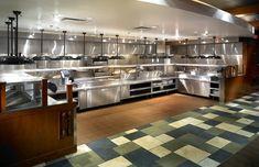 Thiết bị bếp thành vinh: Hình ảnh của các khu bếp nhà hàng đẹp
