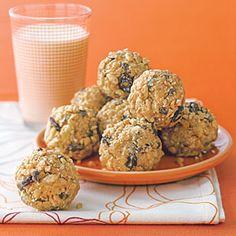 Peanut Butter Oat Bites | MyRecipes.com