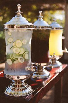 Serve nonalcoholic drinks.