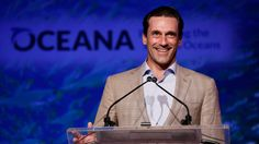 """My many talents — one of them is not making speeches,"" warned ""Mad Men"" star Jon Hamm at the start of his amusing address at Oceana's eighth annual SeaChange Summer Party at Dana Point on Saturday night. ""Especially when they're not written by Matt Weiner. So this could get rough. Lower your expectations. Stay with me… if I have any trouble, I'm going to get Kiernan Shipka up here and she's going to sing a song — she's way better at this than I am."" ~ Jon Hamm 