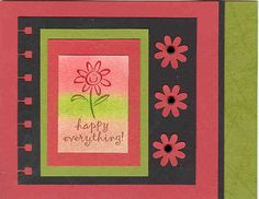 Greetings Galore Pastel Flower by Kathy LeDonne - Cards and Paper Crafts at Splitcoaststampers