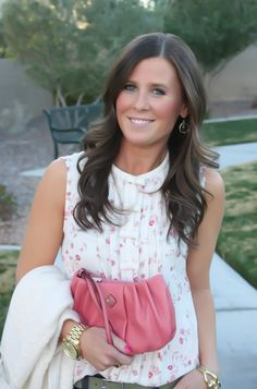 Think Pink for Spring - entire look from Kohl's for $125 #winkofpink