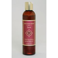 Sarada Ayurvedic Remedies 8 oz. Sochi Body and Massage Oil - SO