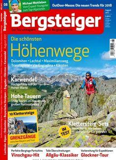 Die schönsten Höhenwege: #Dolomiten, #Lechtal, #Maximiliansweg, #Kärnten, ... Jetzt in bergsteiger:  #bergsteigen