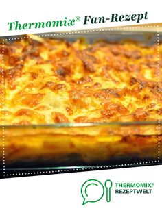 Pumpkin Mozzarella Lasagna from thermomike. A Thermomix ® recipe from the main course with vegetables category www.de, the Thermomix ® community. All Recipes Chili, Greek Recipes, Pork Recipes, Baking Recipes, Lasagna Recipe With Ricotta, Easy Lasagna Recipe, Mozzarella, Lasagne Recipes, Meatloaf Recipes