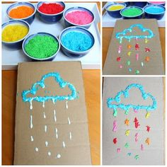 24 Arts crafts ideas preschool - Aluno On Kids Crafts, Toddler Crafts, Diy And Crafts, Arts And Crafts, Paper Crafts, Montessori Baby, Montessori Activities, Indoor Activities For Kids, Toddler Activities