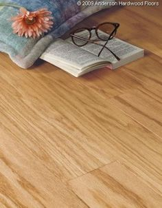 """Anderson 3"""" Rushmore Natural.The rich full bodied color of Rushmore delights the eye and warms your home. This premium collection offers 3"""" wide planks that will add character and interest to any room in your home."""