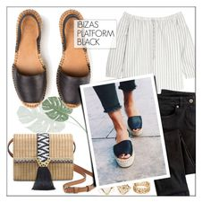 """""""ALOHASSANDALS.com"""" by monmondefou ❤ liked on Polyvore featuring Madewell, Wrap, Stella & Dot and alohasandals"""