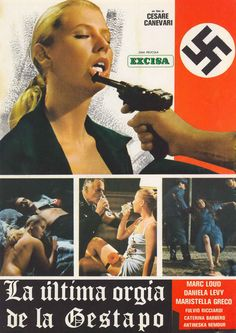 Last Orgy of the Third Reich (L'Ultima orgia del III Reich, aka Caligula Reincarnated as Hitler, aka Gestapo's Last Orgy) (1977, Italy).