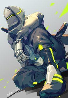 Genji x Overwatch 2 Overwatch Genji, Overwatch Fan Art, Video Game Characters, Fantasy Characters, Genji Wallpaper, Deku Anime, Character Art, Character Design, Genji Shimada