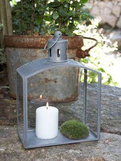Decorative Zinc Lantern