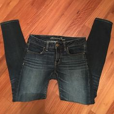American Eagle jeggings Super stretch jegging size 6 regular American Eagle Outfitters Jeans Skinny