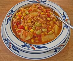 "Threads of Inspiration: Brunswick Stew Probably the most authentic if you're looking for the ""fair"" version."