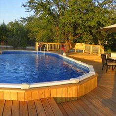 Oval Above Ground Pools, Best Above Ground Pool, Above Ground Swimming Pools, In Ground Pools, Backyard Pool Designs, Small Backyard Pools, Swimming Pools Backyard, Pool Landscaping, Diy Pool
