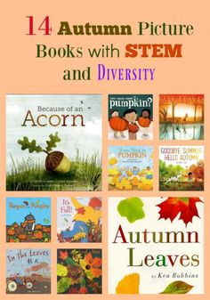 14 Autumn Picture Books with STEM and Diversity Rhyming Pictures, Fallen Book, Stem Activities, Educational Activities, Fall Pictures, Chapter Books, Any Book, Learn To Read, Read Aloud