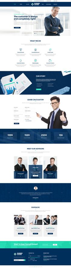 Buy Business Adviser - Multipurpose PSD Template by WPRollers on ThemeForest. Business Adviser is a highly professional PSD template that was created by our specialist for business and financial. Website Layout, Web Layout, Layout Design, Website Ideas, Website Designs, Template Web, Psd Templates, Theme Forest, Site Vitrine