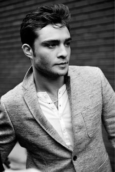 Chuck Bass || Ed Westwick via Fashion CHALET: The Next Marlon Brando?