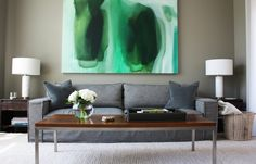 Paint colors that match this Apartment Therapy photo: SW 6258 Tricorn Black, SW 6734 Espalier, SW 6750 Waterfall, SW 6238 Icicle, SW 7019 Gauntlet Gray
