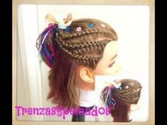 peinado con trenzas para nias con cabello corto u braids for short hair
