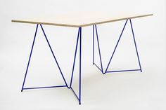 Diamond  Stackable Table Trestles by Michal Malášek
