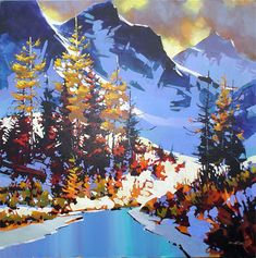 The Art of Michael O'Toole: Yoho National Park