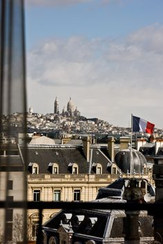 View from the room 704 at Hotel Marignan Paris