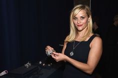 Reese Witherspoon attends the Tiffany & Co. celebration of the 2015 Blue Book Collection on April 15, 2015 in New York City