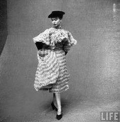 Cristobal Balenciaga, Ensemble, photographed by Gordon Parks for LIFE, 1951