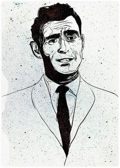 Rod Serling by Dave Averdick