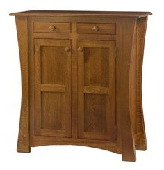 Amish Arts & Crafts Cabinet