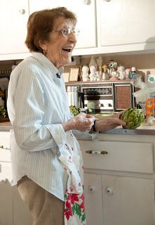 This is a blog which is done by a 94 year old woman who lived through the great depression.  She is sharing money saving TASTY meals that they ate.  She said she even gained weight during the great depression because they ate so well.