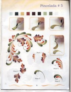 Рисуем цветы - Oksana Volkova - Веб-альбомы Picasa