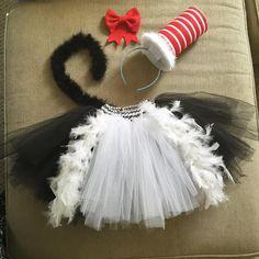 42b7166398614e Dr Seuss Cat In The Hat Tutu Set. Dr Seuss Diy Costumes, Diy Halloween