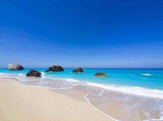 Megali Petra beach, Lefkada island- the most amazing kind of sand i have ever seen