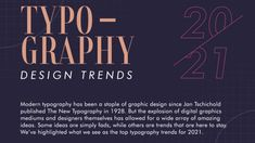 8 key typography trends for 2021 Modern Typography, Typography Letters, Typography Design, Lettering, Calligraphy Words, Text Overlay, Infographic Maker, Graphic Design Trends, Creative Portfolio