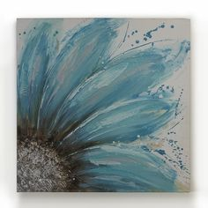 blue flower....
